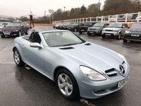 2007 MERCEDES-BENZ SLK 1.8 SLK200 KOMPRESSOR 2d 161 BHP £9999.00
