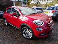 USED 2017 67 FIAT 500X 1.4 MULTIAIR LOUNGE 5d 140 BHP Full Fiat Service History (Recently Serviced by Fiat + ourselves), One Owner from new, MOT until November 2020. Balance of Fiat Warranty until November 2020