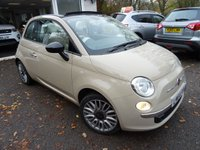 USED 2014 64 FIAT 500 0.9 TWINAIR CONVERTIBLE CULT 3d 85 BHP ONLY 6,600 miles covered! Comprehensive Service History + Serviced by ourselves, One Owner, Minimum 8 months MOT, Excellent fuel economy! ZERO Road Tax!