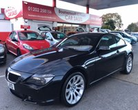 2006 BMW 6 SERIES 3.0 630I SPORT COUPE AUTO 255 BHP £5995.00