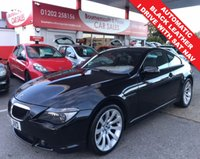 USED 2006 56 BMW 6 SERIES 3.0 630I SPORT COUPE 2d 255 BHP