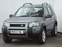 2005 LAND ROVER FREELANDER 1.8 XEI STATION WAGON 5d 116 BHP £1999.00