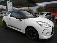2012 CITROEN DS3 1.6 E-HDI AIRDREAM DSPORT 3d 111 BHP FREE ROAD TAX £5295.00