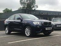 2014 BMW X4 2.0 XDRIVE20D SE 4d AUTO 188 BHP £18990.00