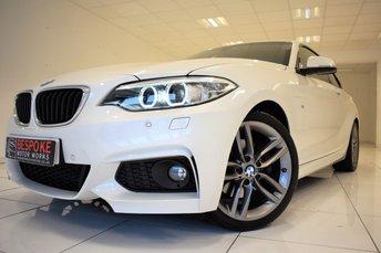 2016 BMW 2 SERIES 220D M SPORT 190 BHP AUTOMATIC £19250.00