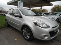 USED 2011 61 RENAULT CLIO 1.1 DYNAMIQUE TOMTOM 16V 3d 75 BHP 4 SERVICE STAMPS