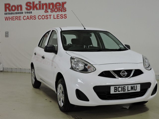 View our 2016 16 NISSAN MICRA 1.2 VISIA 5d 79 BHP