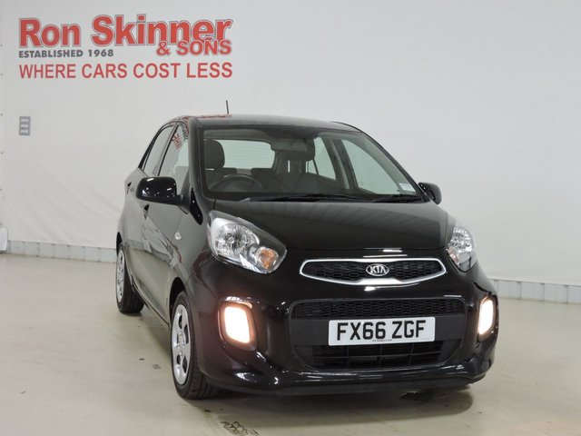 View our 2016 66 KIA PICANTO 1.0 1 AIR 5d 65 BHP