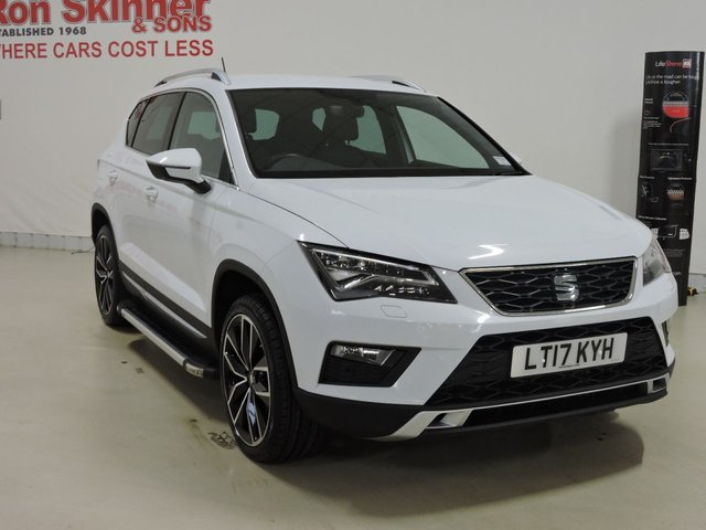 View our 2017 17 SEAT ATECA 1.4 ECOTSI XCELLENCE 5d 148 BHP