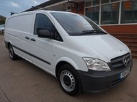 USED 2014 14 MERCEDES-BENZ VITO 113 CDI LWB, 136 BHP [EURO 5], 1 COMPANY OWNER