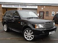 2006 LAND ROVER RANGE ROVER SPORT 4.4 V8 HSE 5d AUTO 295 BHP £6895.00