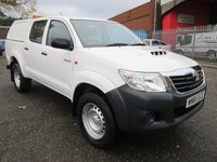 2015 TOYOTA HI-LUX 2.5 ACTIVE 4X4 D-4D DOUBLE CAB PICK UP 144 *ONLY 23000 MILES* £13250.00