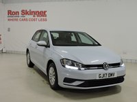USED 2017 17 VOLKSWAGEN GOLF 1.6 S TDI BLUEMOTION TECHNOLOGY 5d 114 BHP