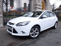 USED 2012 12 FORD FOCUS 1.6 ZETEC 5d 104 BHP FINANCE ARRANGED***PART EXCHANGE WELCOME***BLUETOOTH***DAB***USB***AUX***AIR CON***