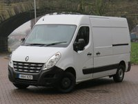USED 2014 14 RENAULT MASTER 2.3 MM33 DCI S/R P/V 1d 100 BHP