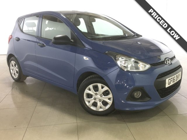 View our 2016 16 HYUNDAI I10 1.0 S 5d 65 BHP