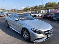 2015 MERCEDES-BENZ S CLASS 5.5 S63 AMG 2d AUTO 577 BHP £57500.00
