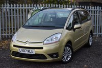 2007 CITROEN C4 GRAND PICASSO 1.8 VTR PLUS 16V 5d 124 BHP £2490.00