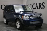 USED 2012 12 LAND ROVER DISCOVERY 3.0 4 SDV6 COMMERCIAL 5 DOOR AUTO 255 BHP REAR SEAT CONVERSION Satellite Navigation + Bluetooth Connectivity + Harmon Kardon Premium Sound + DAB Radio, 5 Seat Conversion, 19 Inch Alloy Wheels, Park Distance Control, Leather Multi Function Steering Wheel, Cruise Control, Digital Dual Zone Climate Control, Privacy Glass