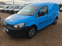 USED 2013 13 VOLKSWAGEN CADDY MAXI 1.6 C20 TDI 1d 101 BHP ONLY 39000 MILES DIRECT BRITISH GAS AIR/CON
