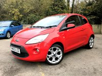 2013 FORD KA 1.2 ZETEC 3d ONLY 1 FORMER KEEPER, UPGRADED ALLOYS, AIR CON   £4490.00