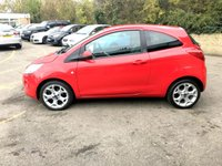 USED 2013 63 FORD KA 1.2 ZETEC 3d ONLY 1 FORMER KEEPER, UPGRADED ALLOYS, AIR CON   STUNNING LOOKING CAR, ONLY £30 TAX, 55K SERVICE HISTORY