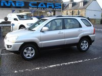 USED 2009 09 KIA SPORTAGE 2.0 XE 5d 140 BHP 1 OWNER FROM NEW,FULL DEALER SERVICE HISTORY,FOUR WHEEL DRIVE