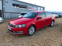 USED 2013 63 VOLKSWAGEN PASSAT 2.0 HIGHLINE TDI BLUEMOTION TECHNOLOGY 4d 139 BHP