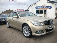 2011 MERCEDES-BENZ C CLASS 1.8 C180 BLUEEFFICIENCY ELEGANCE EDITION 125 4d AUTO 156 BHP £SOLD
