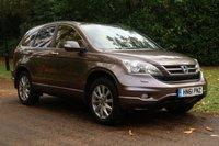 2012 HONDA CR-V 2.0 I-VTEC EX 5d AUTO 148 BHP £10000.00