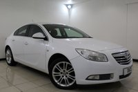 USED 2010 60 VAUXHALL INSIGNIA 1.8 EXCLUSIV 5DR 138 BHP CRUISE CONTROL + MULTI FUNCTION WHEEL + CLIMATE CONTROL + ELECTRIC WINDOWS + ELECTRIC MIRRORS + 17 INCH ALLOY WHEELS