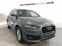 USED 2012 12 AUDI Q3 2.0 TDI SE 5d 138 BHP *VERY CLEAN FOR YEARS & MILES*