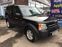 2006 LAND ROVER DISCOVERY 2.7 3 TDV6 7 SEATS 5d 188 BHP £5995.00