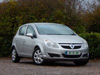 USED 2008 58 VAUXHALL CORSA 1.4 CLUB A/C 5d 90 BHP FULL SERVICE HISTORY, NEW MOT ON PURCHASE, LOW MILEAGE