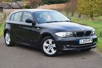USED 2009 59 BMW 1 SERIES 2.0 120D SE 5d 174 BHP FULL CREAM LEATHER INTERIOR ++