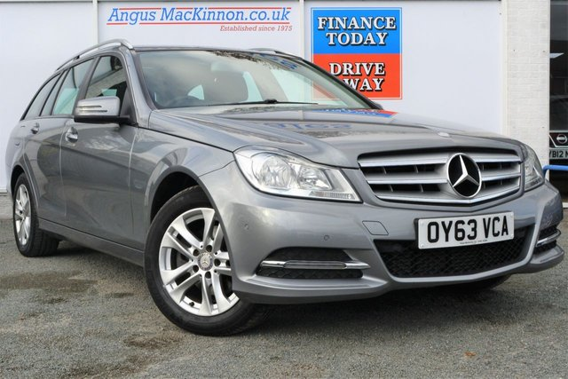 2013 63 MERCEDES-BENZ C CLASS 2.1 C220 CDI BLUEEFFICIENCY EXECUTIVE SE 5d Family Estate with Very Low Mileage