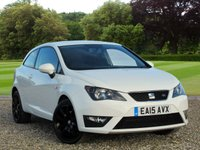 USED 2015 15 SEAT IBIZA 1.4 TSI ACT FR 3d 140 BHP An economical first car