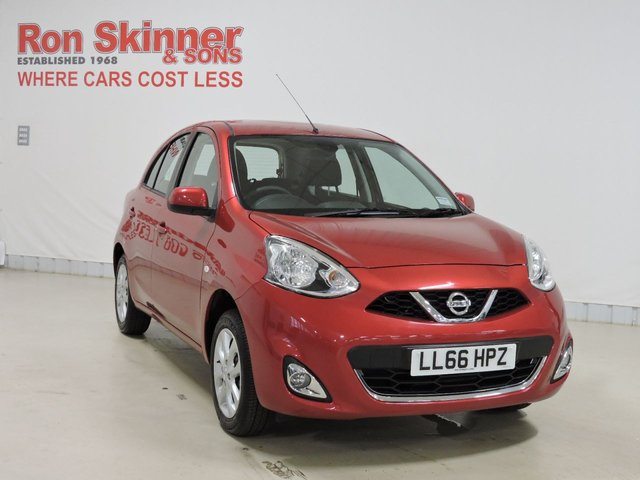 View our 2016 66 NISSAN MICRA 1.2 ACENTA 5d 79 BHP