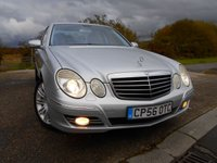 2007 MERCEDES-BENZ E CLASS 3.5 E350 SPORT 4d AUTO 272 BHP ** ONE OWNER FROM NEW, FULL BLACK  LEATHER, 2 KEYS, 7 SPEED AUTO, ABSOLUTELY STUNNING THROUGHOUT  ** £5495.00