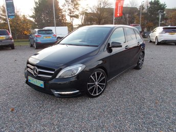 2013 MERCEDES-BENZ B CLASS 1.8 B180 CDI BLUEEFFICIENCY SPORT 5d 109 BHP £8995.00