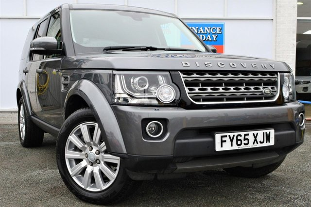 2015 65 LAND ROVER DISCOVERY 4 3.0 SDV6 COMMERCIAL SE 5dr 2 Seat 4x4 AUTO