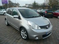 2010 NISSAN NOTE 1.4 N-TEC 5d 87 BHP £SOLD