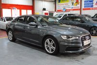 USED 2014 64 AUDI A6 2.0 TDI ULTRA S LINE H LEATHER NAV FDSH 4d AUTO 188 BHP