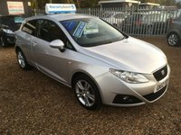 USED 2012 12 SEAT IBIZA 1.4 SE COPA 3d 85 BHP FULL SERVICE HISTORY - FINANCE AVAILABLE