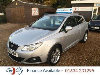 2012 SEAT IBIZA 1.4 SE COPA 3d 85 BHP £5490.00