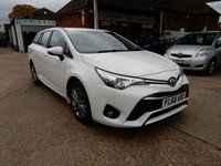 USED 2016 66 TOYOTA AVENSIS 2.0 D-4D BUSINESS EDITION 5d 141 BHP SAT NAV,TWO KEYS,CRUISE CONTROL,REAR CAMERA,SERVICE HISTORY