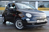 USED 2009 09 FIAT 500 1.2 C LOUNGE 3d 69 BHP NO DEPOSIT FINANCE AVAILABLE