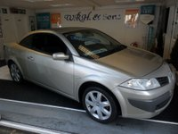 2007 RENAULT MEGANE 1.6 DYNAMIQUE VVT 2d AUTO 110 BHP £2995.00