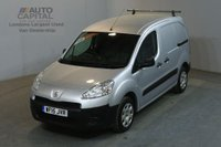 USED 2015 15 PEUGEOT PARTNER 1.6 HDI PROFESSIONAL L1 850 90 BHP SWB AIR CON VAN ONE OWNER FULL S/H SPARE KEY