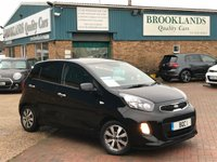 2015 KIA PICANTO 1.0 SR7 5 Door Galaxy Black Metallic with Black Cloth 68 BHP £6295.00